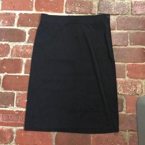 NWT Ann Taylor Black Skirt